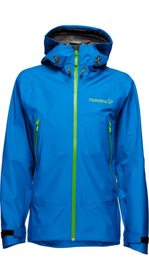 Norrøna Jr Falketind Gore-Tex Jacket Electric Blue